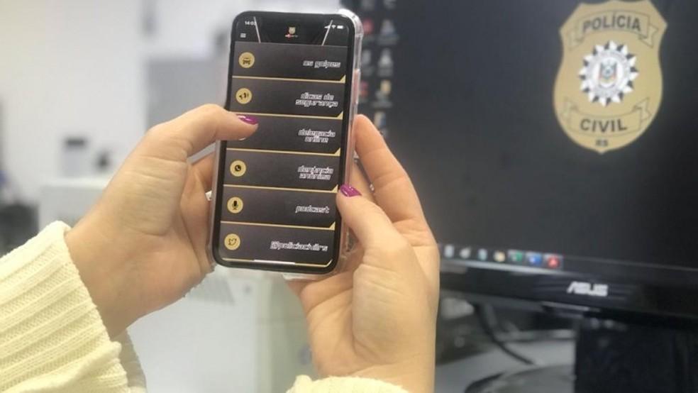 Polícia Civil lança versão atualizada do app PC Alerta — Foto: PC-RS/Divulgação