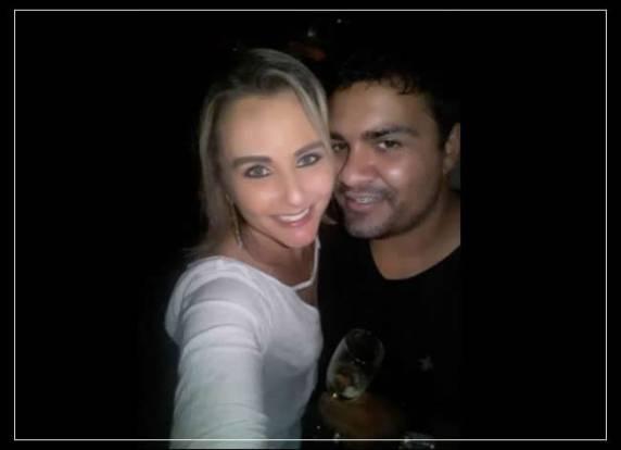 Camila Lorenzon Gonzatto e Misael Santos da Cruz (Foto: Arquivo Pessoal/Facebook)