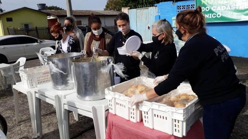 Insumos comprados pelos servidores foram preparados por apenados da unidade prisional - Foto: Divulgação Susepe