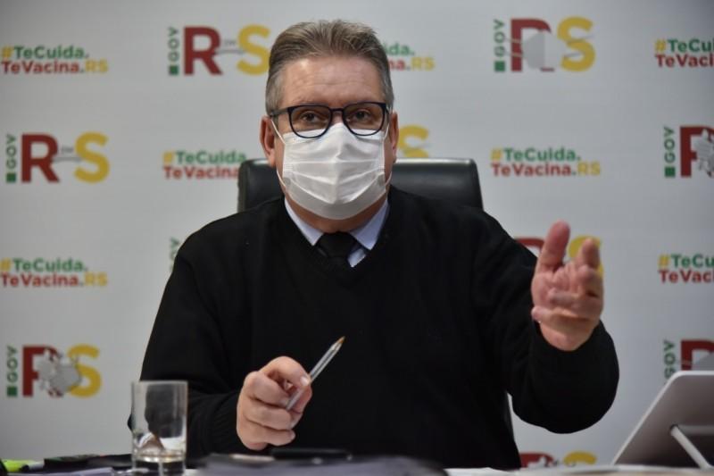 Ranolfo reconhece a melhora em não precisar emitir novos alertas e avisos, mas diz que todos precisam seguir atentos - Foto: Rodrigo Ziebell/Ascom GVG