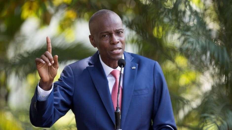 Jovenel Moïse foi morto durante ataque à sua residência em Porto Príncipe, disse primeiro-ministro, Claude Joseph. Foto: EPA / BBC News Brasil