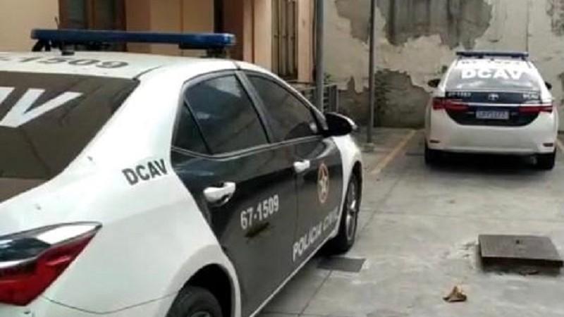 Suspeito foi preso em flagrante no Rio de Janeiro.