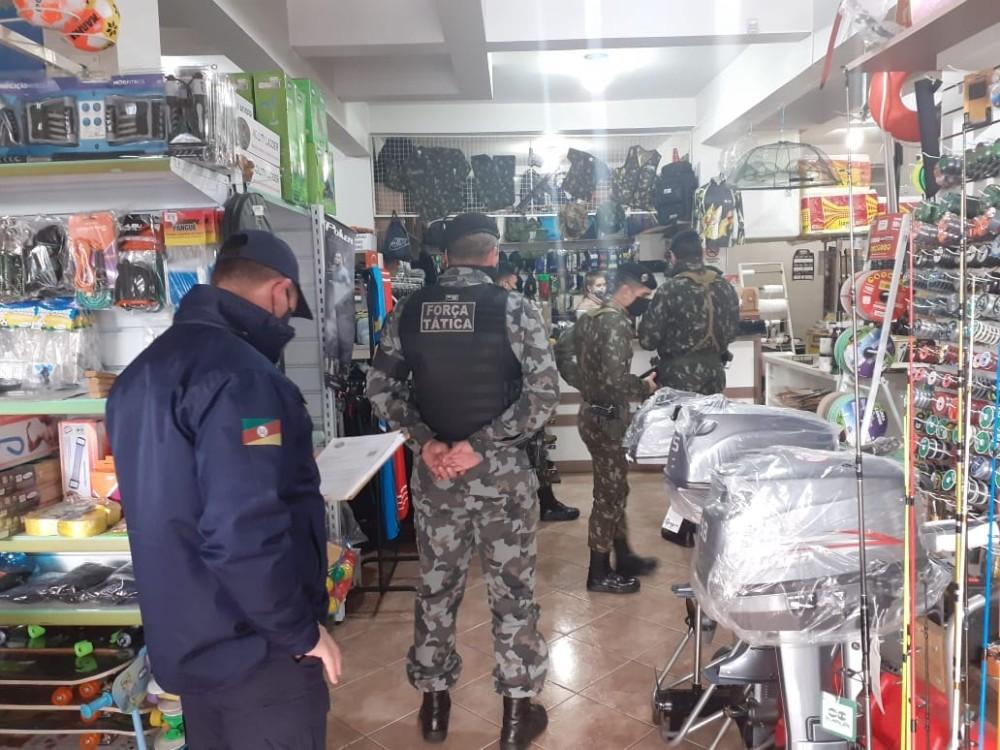 7° BPM presta apoio ao Exército Brasileiro na Operação Hóplon - RD Foco