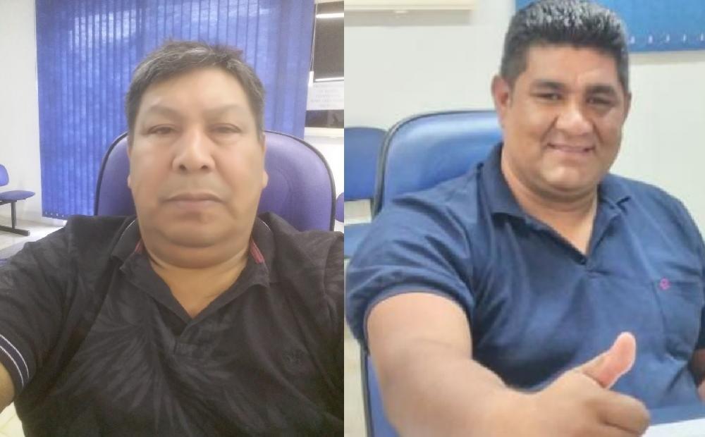Elizeu Kei Claudino e Joel Ribeiro de Freitas, eleitos pelo PSB em Redentora. Foto: RD Foco/Montagem