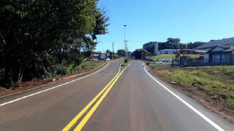 Mais de R$ 5 milhões foram investidos em obras na rodovia - Foto: Divulgação Daer