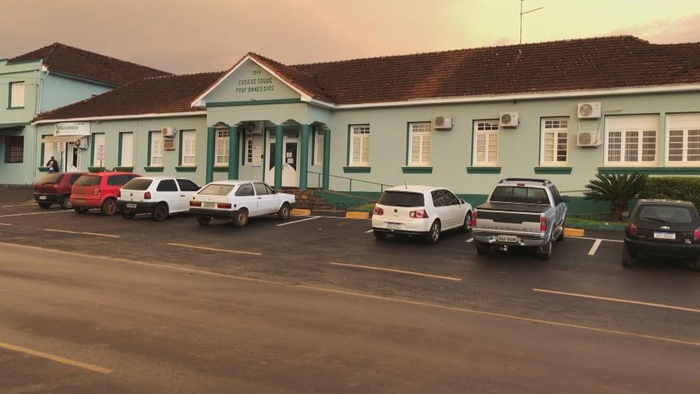 Hospital Comunidade Annes Dias, em Ibirubá — Foto: Reprodução / RBS TV
