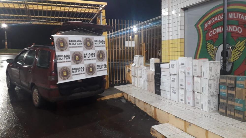 Os produtos foram avaliados em 45 mil reais sem desembaraço aduaneiro (Foto:PRE)