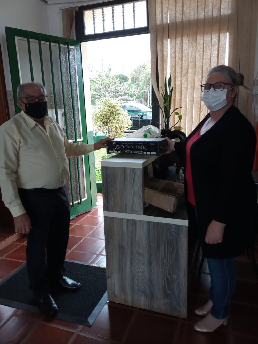 Redentora: Cras Sagrada Família recebe doação de empresário local - RD Foco