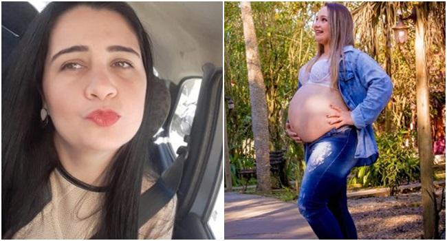 Rozalba matou Flávia e usou estilete para retirar criança da barriga da vítima (Fotos: Divulgação)