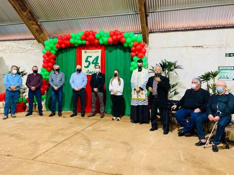 Comemorações marcam os 54 anos da Cotricampo