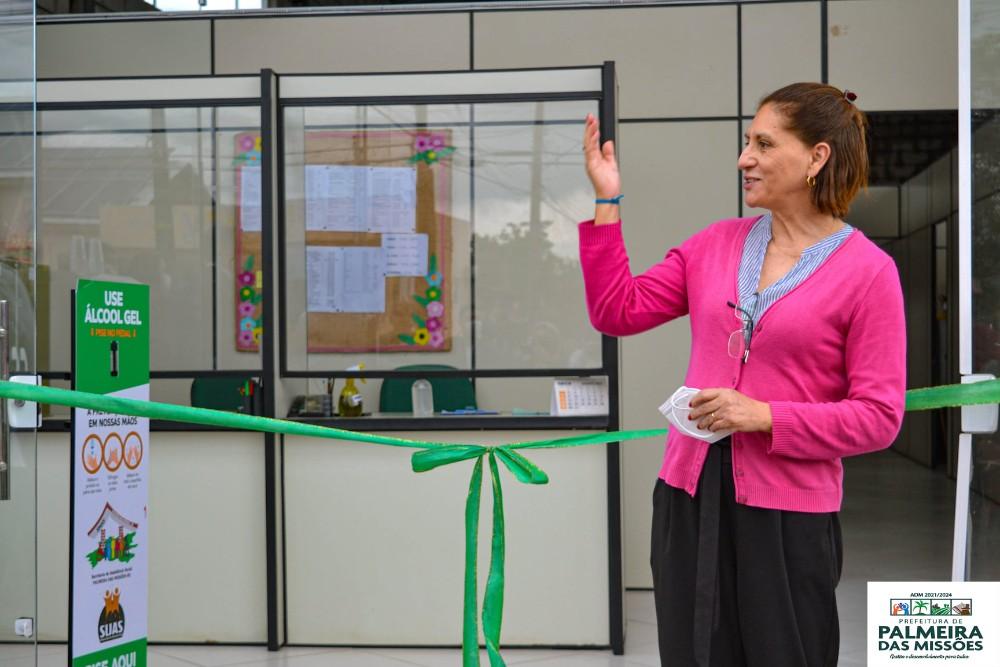 Palmeira das Missões: Administração Municipal inaugura nova sede do CRAS - RD Foco