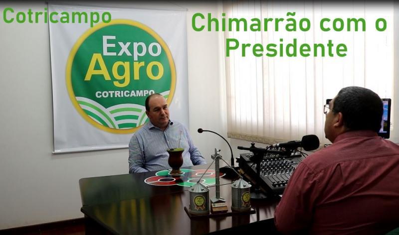 Cotricampo apresenta: Chimarrão com o Presidente